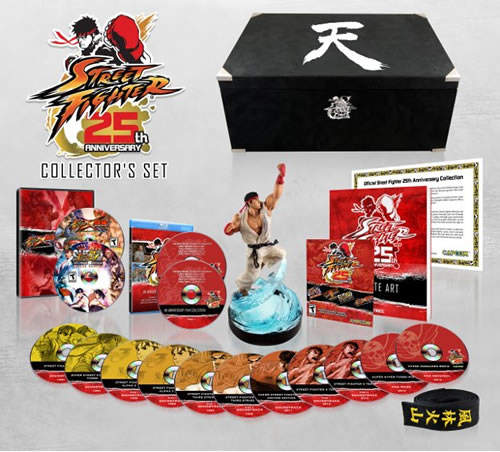 Contenido del Set de Colección del 25 aniversario de Street Fighter