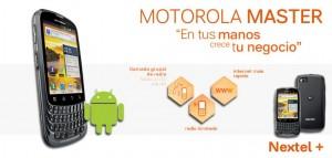 Anuncio Motorola Master en Facebook