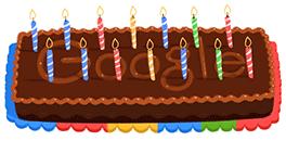 Doodle por los 14 años de Google