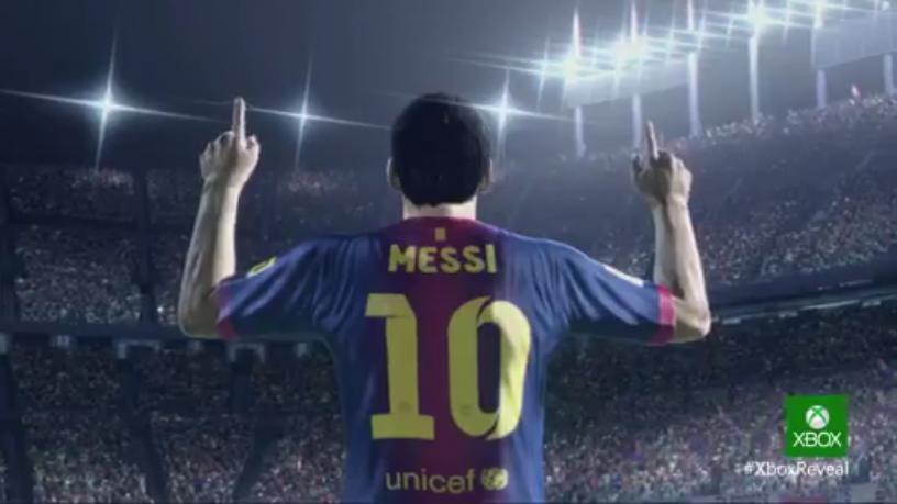 Lionel Messi en FIFA 14 para Xbox One