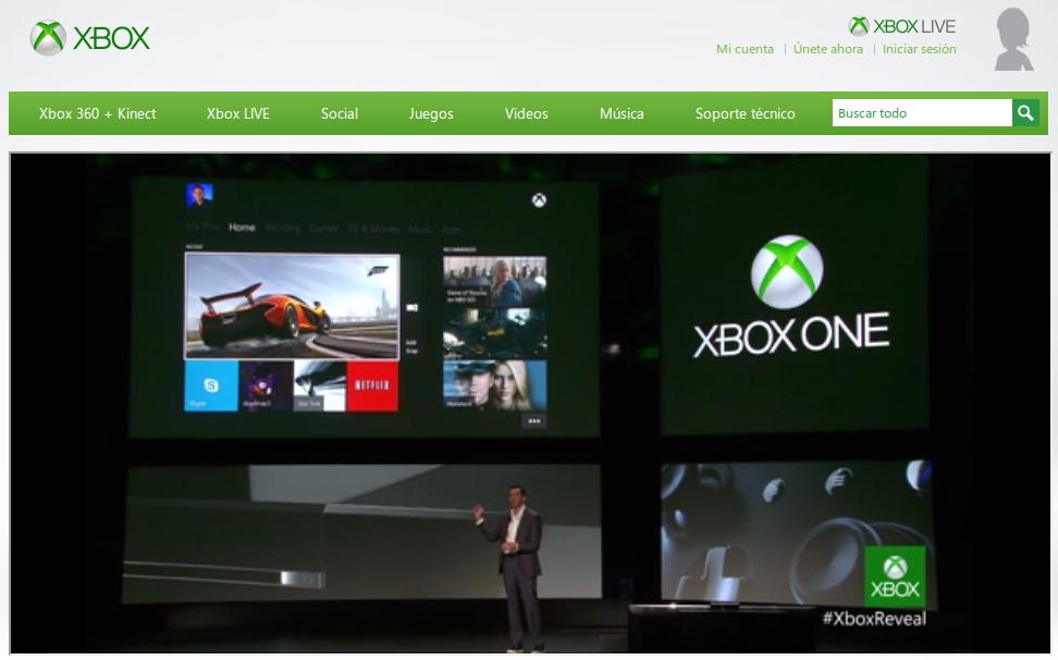 Tim Maddrick, presidente de la división de entretenimiento de Microsoft, presentó oficialmente la Xbox One