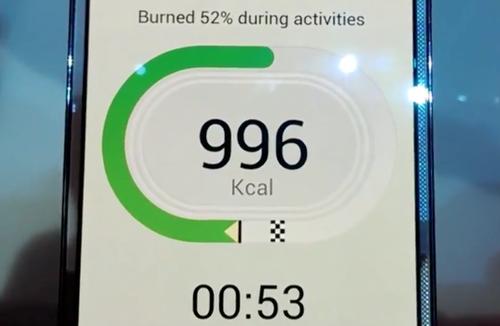 Una app que nos muestra las calorías que quemamos durante el ejercicio