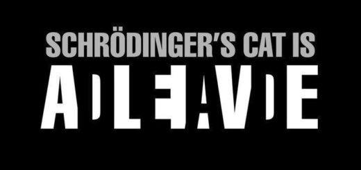 Schrödinger's cat is...