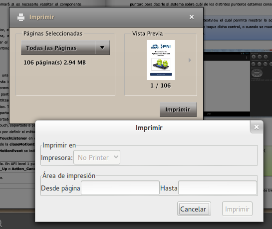 Imprimir manual desde Publ.com en Linux