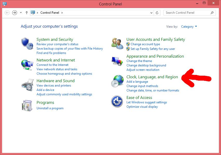 Poner Windows 8 en español - Paso 1