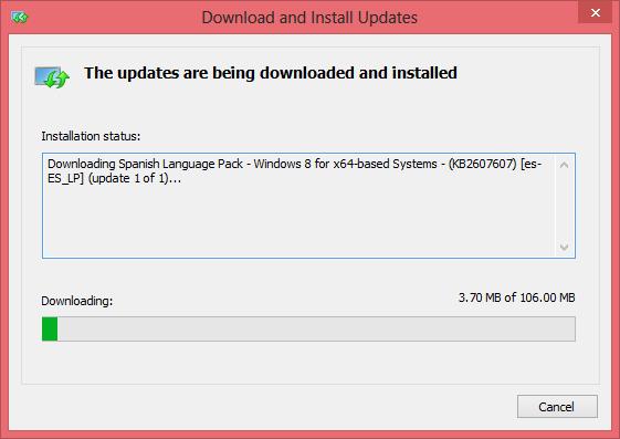 Poner Windows 8 en español - Paso 9