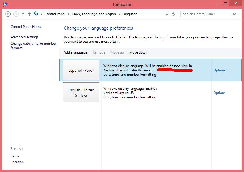 Poner Windows 8 en español - Paso 10