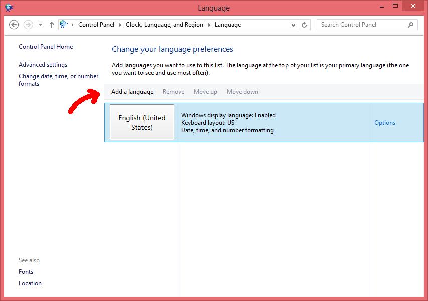 Poner Windows 8 en español - Paso 3