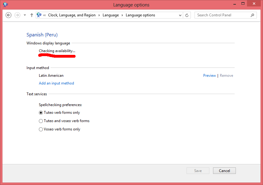 Poner Windows 8 en español - Paso 7