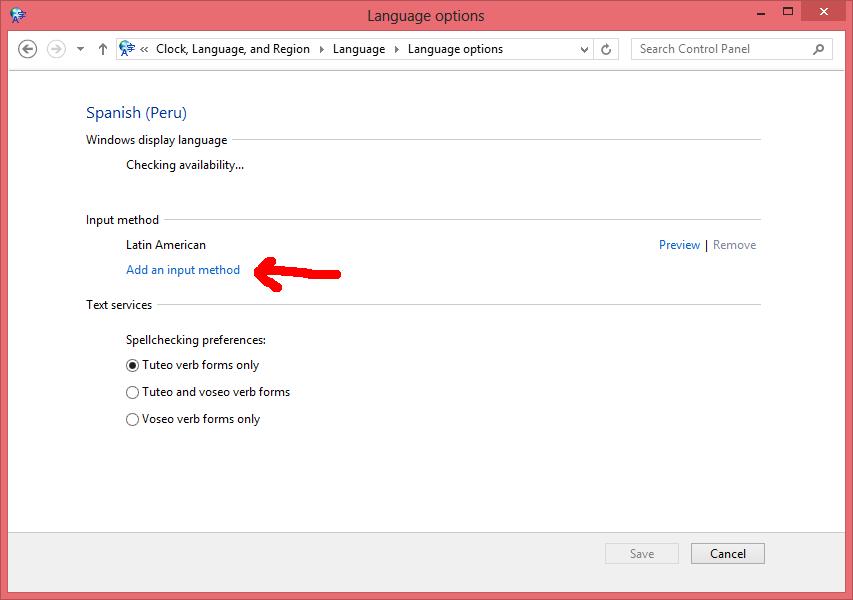 Poner Windows 8 en español - Paso 8.1
