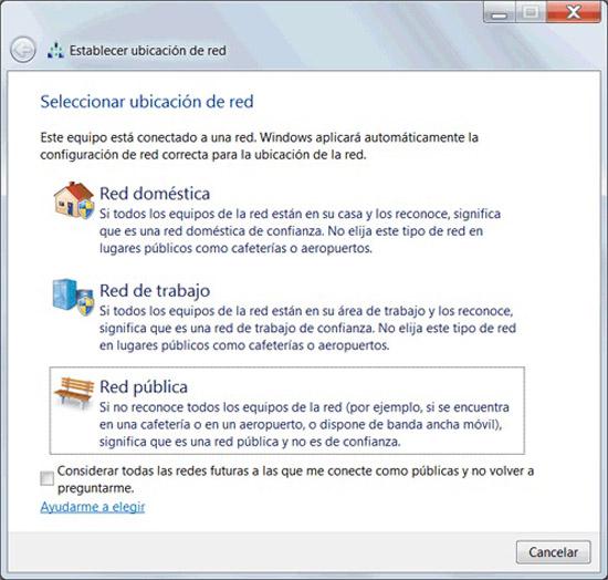 Conectarse a una red inalámbrica en Windows
