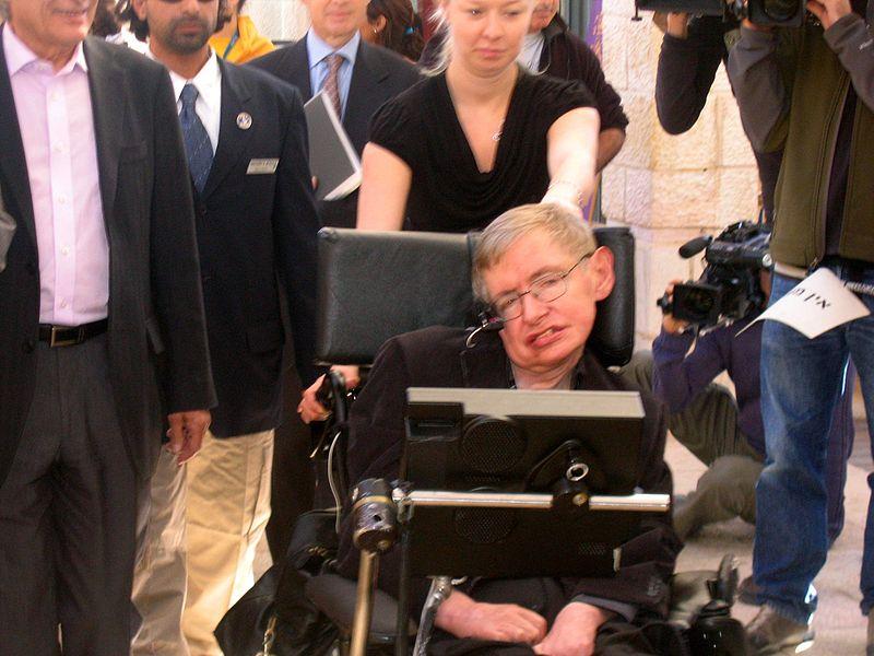 Stephen Hawking en el año 2006