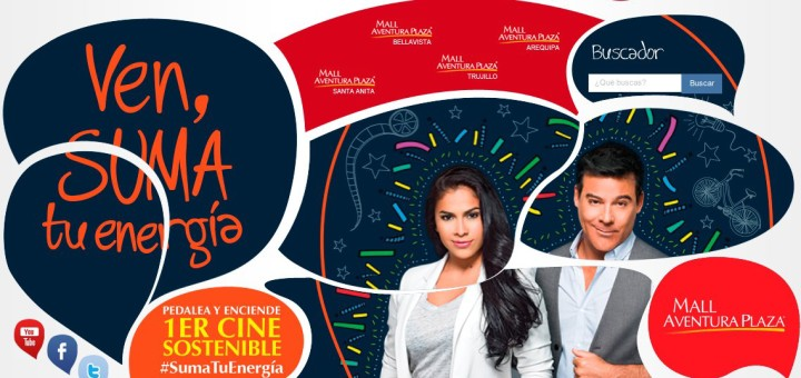 Suma tu energía: El primer cine sostenible en el Perú