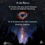 Stephen Hawking: 14 de marzo