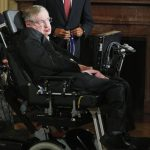 Stephen Hawking y Barack Obama