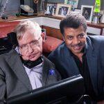 Stephen Hawking y Neil deGrasse Tyson