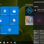 Centro de actividades de Windows 10