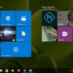 Menú Inicio de Windows 10 (pantalla completa)
