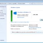 Notificación de actualización a Windows 10 (Windows Update)