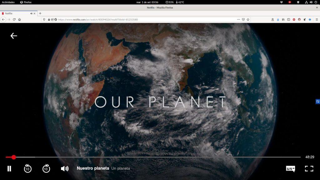 Netflix en Firefox para PC