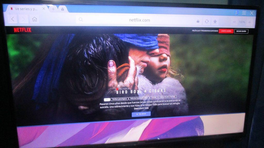 Probando Netflix gratis en una Smart TV Samsung